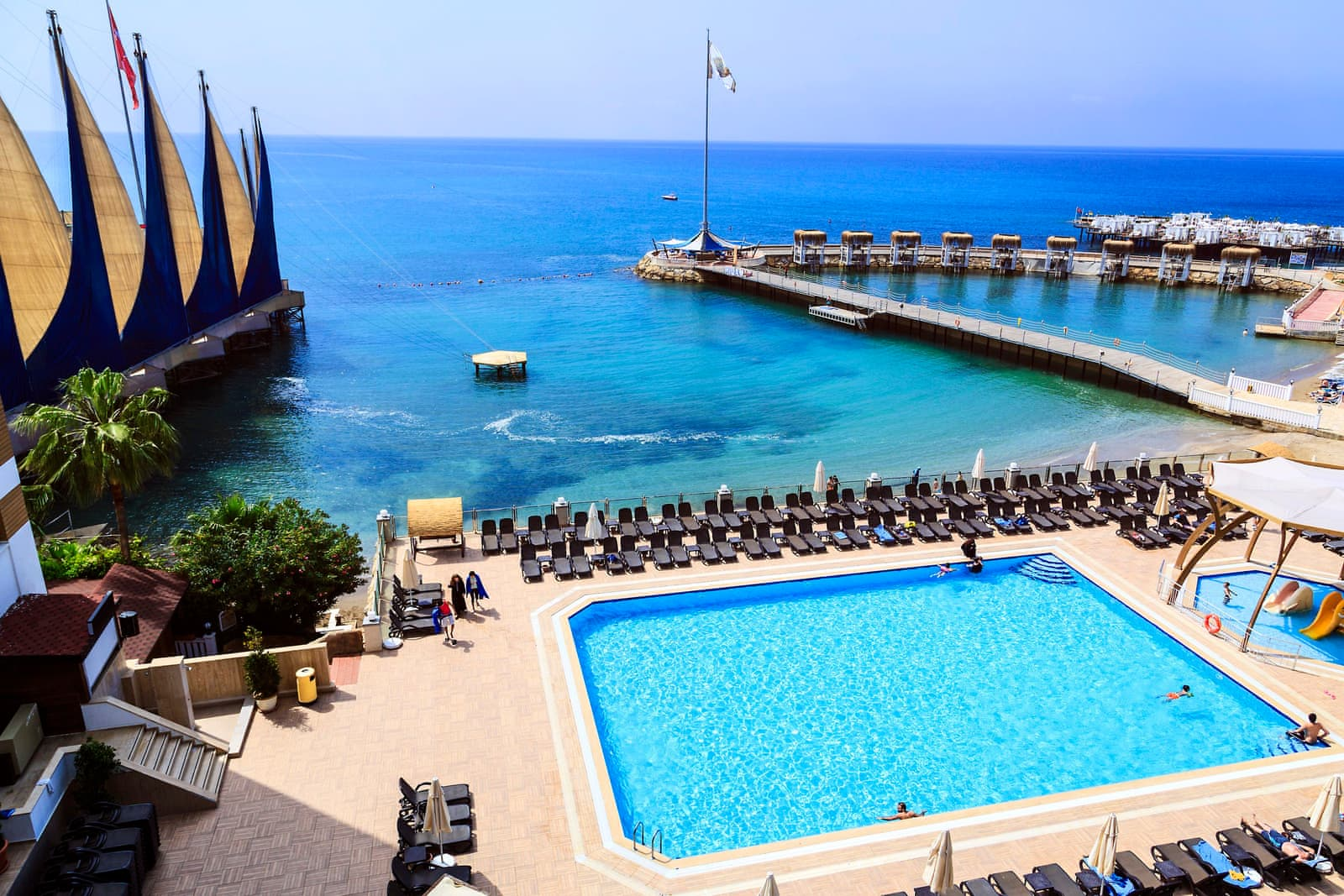 adin beach hotel halal holidays ummahtrip
