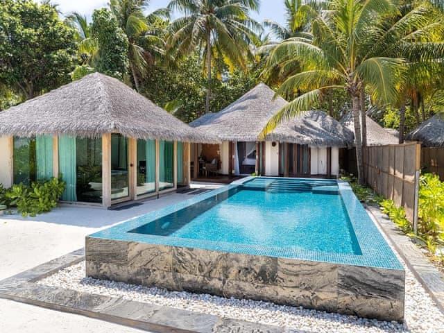 Strand Suite mit Pool